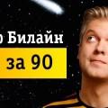 Тариф Билайн «Все за 90» — описание, стоимость и подключение в городах РФ (Часть 1).